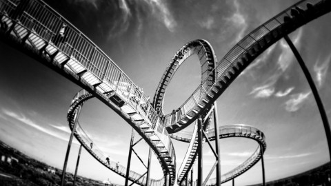 It's a Roller Coaster Ride For Markets Ahead of Today's Fed Minutes