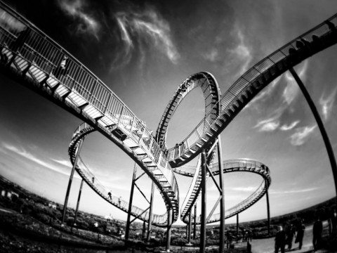 Bond Yields Rise, USD/JPY falls and Volatility Rises: Roller Coaster Day