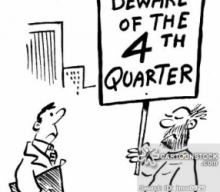 The 4th Quarter: And So It Begins