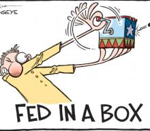 Markets Edge Lower, Fed Commentary & Shaken Heads