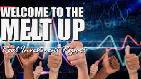 FOMO Melt Up, But Don't Discount A Pullback Yet!